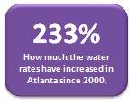 Atlanta Water Rate Increase