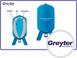 Data Sheet (PT): The Greyter Water Systems PT Series Pressure Tanks Are  Used To Support The Residential, Semi Commercial And Commercial Greywater  Recycling ...